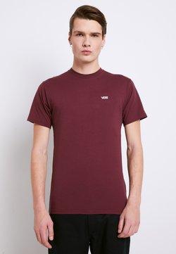 Vans - MN LEFT CHEST LOGO TEE - Camiseta básica - port royale white