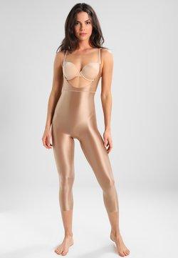Spanx - SUIT YOUR FANCY OPEN BUST CATSUIT - Body - beige