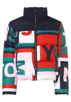 Tommy Jeans - Winterjacke - marine mehrfarbig