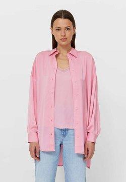 Stradivarius - Hemdbluse - neon pink