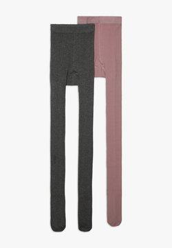 Ewers - 2 PACK - Collant - grau melange/wildrose
