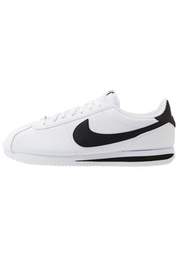 Nike Sportswear - CORTEZ BASIC - Baskets basses - white/black/metallic silver