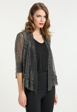 faina - Leichte Jacke - schwarz silber