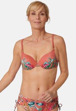 Triumph - Bikini-Top - orange -  dark combination