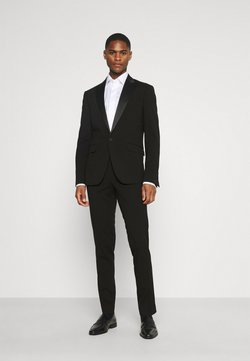 Lindbergh - STRETCH TUXEDO SUIT - Completo - black