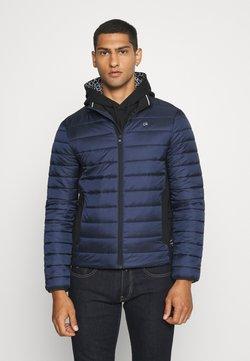 Calvin Klein - LIGHT WEIGHT SIDE LOGO JACKET - Overgangsjakker - blue