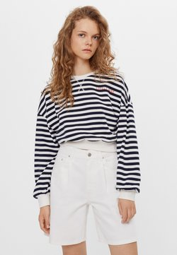 Bershka - Sweatshirt - white