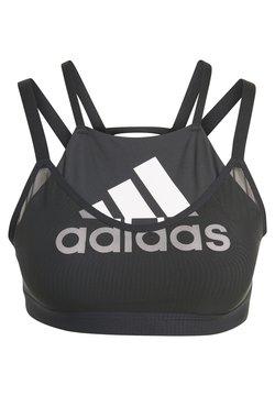adidas Performance - ALL ME BADGE OF SPORT MESH SPORTS BRA - Sport BH - black