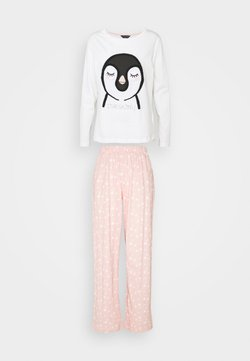 Dorothy Perkins - TOWLLING PENGUIN SET - Pyjama - pink
