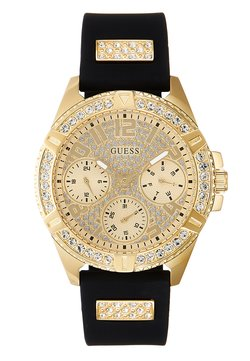 Guess - LADIES SPORT - Zegarek - gold-coloured/black