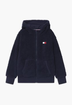Tommy Hilfiger - HOODED FULL-ZIP UNISEX - Veste polaire - blue