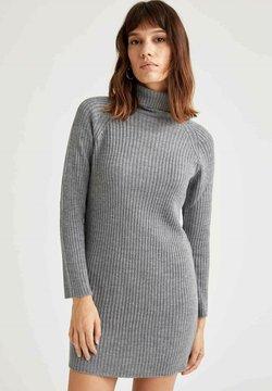 DeFacto - Vestido de punto - grey
