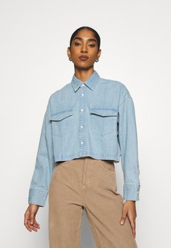Levi's® Made & Crafted - LMC RELAXED SHIRT - Chemisier - ocean spray