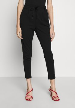 ONLY Petite - ONLPOPTRASH EASY COLOUR PANT - Spodnie materiałowe - black