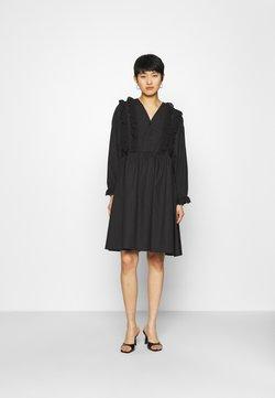 Résumé - CAMERON DRESS - Blusenkleid - black