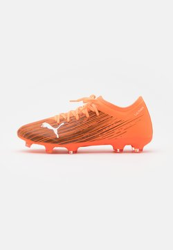 Puma - ULTRA 3.1 FG/AG - Moulded stud football boots - shocking orange/black