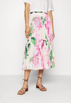 Closet - PLEATED MIDI SKIRT - A-line skirt - pink