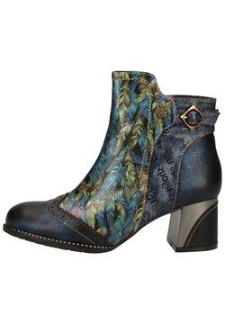 LAURA VITA - Ankle Boot - bleu