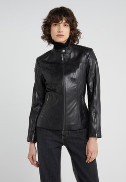 STUDIO ID - STACEY JACKET - Leren jas - black