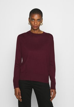 Banana Republic - EASY CREW SOLIDS - Neule - classic burgundy