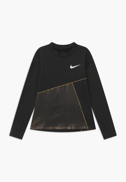 Nike Performance - T-shirt sportiva - black/gold