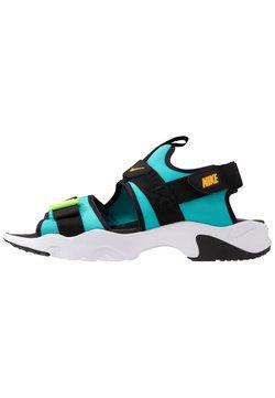 Nike Sportswear - DUMMY - Sandalias de senderismo - oracle aqua/laser orange/black/ghost green/white