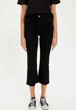 DeFacto - Jeans bootcut - black