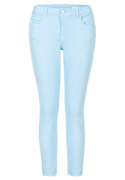 Miss E - ETAM REGULIER ELISE 7/8PANT - Slim fit jeans - pearl blue