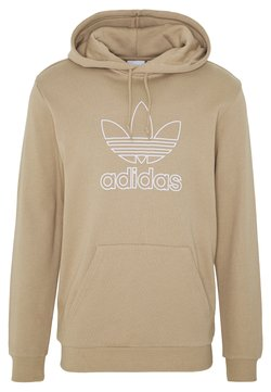 adidas Originals - HOOD OUT - Hoodie - khaki
