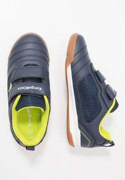 KangaROOS - NICOURT - Sneakers laag - dark navy/lime