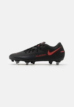 Nike Performance - PHANTOM GT ACADEMY SG-PRO - Fußballschuh Stollen - black/chile red/dark smoke grey