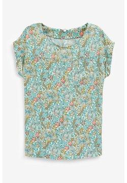 Next - BOXY - T-Shirt print - yellow