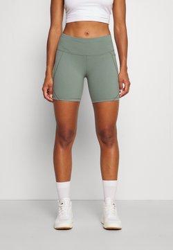 Sweaty Betty - POWER BIKER SHORTS - Tights - heath green