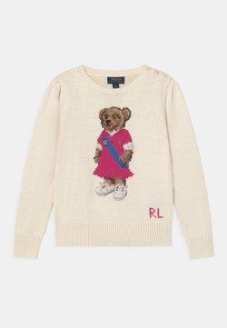Polo Ralph Lauren - BEAR  - Jersey de punto - clubhouse cream