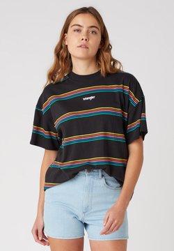Wrangler - T-Shirt print - worn black
