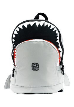 pick & PACK - SHARK - Reppu - grau