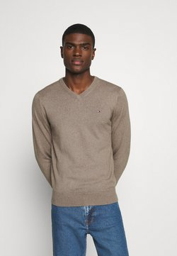 Tommy Hilfiger - Strickpullover - brown