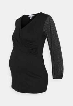Envie de Fraise - FLORINE  - T-shirt à manches longues - black