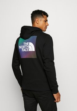 The North Face - GRAPHIC HOODIE - Kapuzenpullover - tnf black/tnf white