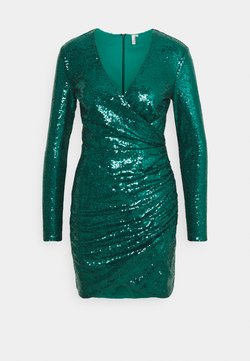 Nly by Nelly - BODY WRAP DRESS - Juhlamekko - green