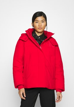 Calvin Klein Jeans - ECO PUFFER JACKET - Winterjacke - red hot