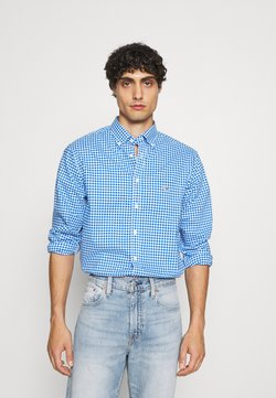 GANT - BROADCLOTH GINGHAM - Camicia - strong blue