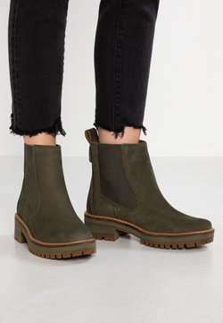 Timberland - COURMAYEUR VALLEY CHELSEA - Stiefelette - olive night