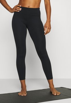 Sweaty Betty - CONTOUR WORKOUT LEGGINGS - Trikoot - black