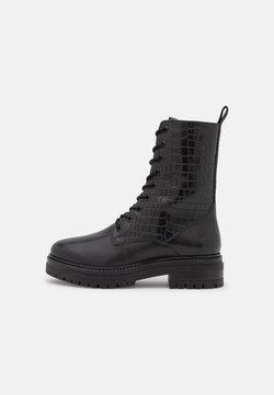 Copenhagen Shoes - WENDY  - Snörstövletter - black