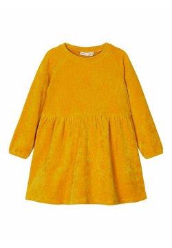 Name it - Korte jurk - inca gold