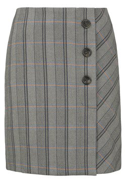 TOM TAILOR - Jupe portefeuille - grey