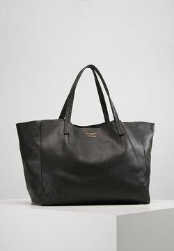 Kurt Geiger London - VIOLET HORIZONTAL TOTE - Shopping Bag - black