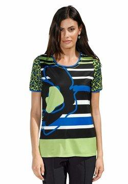 Amy Vermont - T-Shirt print - schwarz,grün,blau