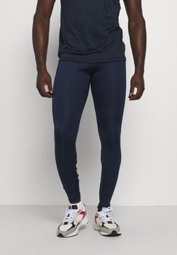 Jack & Jones - JCOZRUNNING - Tights - navy blazer